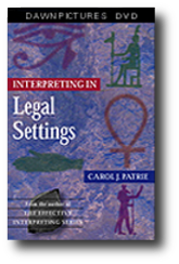 Interpreting in Legal Settings